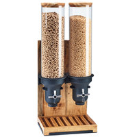 Cal-Mil 3584-2-99 Madera 4.5 Liter Double Canister Cereal Dispenser