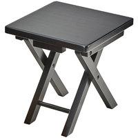 Cal-Mil 3620-11-96 Midnight Bamboo Folding Riser - 10 inch x 10 inch x 10 3/4 inch