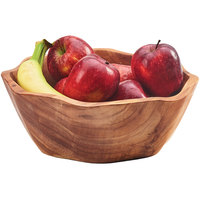 Cal-Mil 3555-14 Wood Accent Bowl - 14 inch x 3 1/4 inch