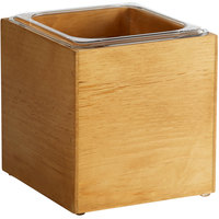 Cal-Mil 3360-6 Madera Rustic Pine Ice Housing - 7 3/4 inch x 7 inch x 7 inch