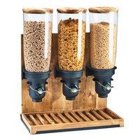 Cal-Mil 3584-3-99 Madera 13.5 Liter Triple Canister Cereal Dispenser