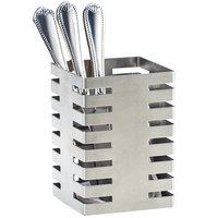 Cal-Mil 3590-4-55 Stainless Steel Flatware Display - 4 1/2 inch x 4 1/2 inch x 6 inch
