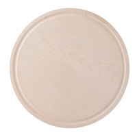 Cal-Mil 3496-12-71 Maple Round Serving Board - 12 inch x 1 1/2 inch