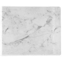 Cal-Mil 3629-1511-81M Carrara Marble Melamine Serving Board - 15 inch x 11 inch x 1/2 inch