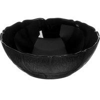 Carlisle 690803 Petal Mist 1.3 Qt. Black Polycarbonate Bowl