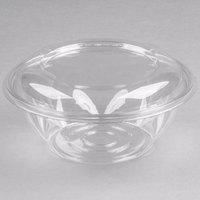 Dart CTR24BD SafeSeal 24 oz. Plastic Tamper-Resistant, Tamper-Evident Bowl with Dome Lid - 50/Pack