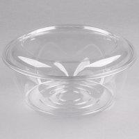Dart CTR64BD SafeSeal 64 oz. Plastic Tamper-Resistant, Tamper-Evident Bowl with Dome Lid - 100/Case