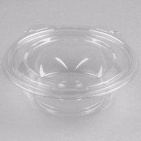 Dart CTR8BF SafeSeal 8 oz. Plastic Tamper-Resistant, Tamper-Evident Bowl with Flat Lid - 240/Case