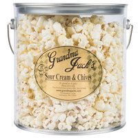 Grandma Jack's 1 Gallon Gourmet Sour Cream and Chives Popcorn