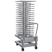 Alto-Shaam 5016489 Roll-In Stainless Steel Plate Cart - 60 Plate