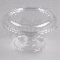 Dart CTR16BD SafeSeal 16 oz. Plastic Tamper-Resistant, Tamper-Evident Bowl with Dome Lid - 60/Pack