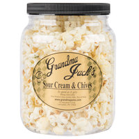 Grandma Jack's 64 oz. Gourmet Sour Cream and Chives Popcorn