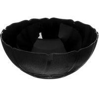 Carlisle 690903 Petal Mist 2.4 Qt. Black Polycarbonate Bowl