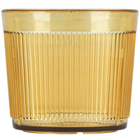 Carlisle 402913 Amber Crystalon Stack-All SAN Tumbler 9 oz.   - 12/Case