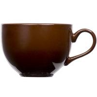 Tuxton DMF-1201 Duratux 12 oz. Mahogany China Cappuccino Cup - 24/Case