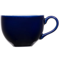 Tuxton B2F-1201 12 oz. Cobalt China Cappuccino Cup - 36/Case