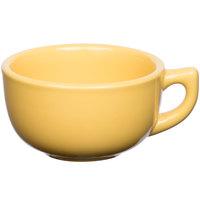 Tuxton BSF-1402 14 oz. Saffron Jumbo China Cappuccino Cup - 24/Case