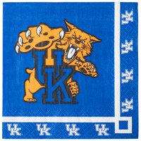 Creative Converting 324855 University of Kentucky 2-Ply Beverage Napkin - 240/Case