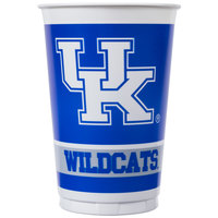 Creative Converting 324858 20 oz. University of Kentucky Plastic Cup - 96/Case