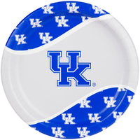 Creative Converting 324854 9 inch University of Kentucky Paper Plate - 96/Case