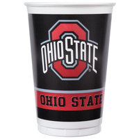 Creative Converting 318561 20 oz. Ohio State University Plastic Cup - 96/Case