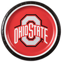 Creative Converting 318557 9 inch Ohio State University Paper Plate - 96/Case