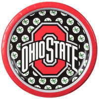 Creative Converting 318565 7 inch Ohio State University Paper Plate - 96/Case