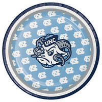 Creative Converting 323273 7 inch University of North Carolina Paper Plate - 96/Case