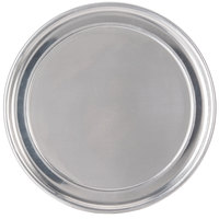 American Metalcraft HATP10 10 inch Wide Rim Pizza Pan - Heavy Weight Aluminum