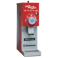 Grindmaster 875S Red ETL Slimline 3 lb. Coffee Grinder - 115V
