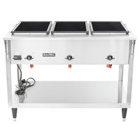 Vollrath 38217 ServeWell SL Electric Three Pan Hot Food Table 208/240V - Sealed Well