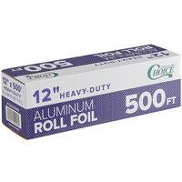 Choice 12 inch x 500' Food Service Heavy-Duty Aluminum Foil Roll