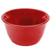 Thunder Group CR303PR Smooth Melamine Pure Red Bouillon Cup - 12/Case