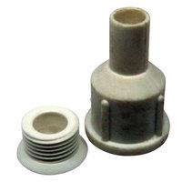 True 811504 Straight Drain Nozzle and Screw Set