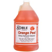 Noble Chemical 1 Gallon / 128 oz. Orange Peel Citrus Solvent Cleaner