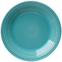 Homer Laughlin 466107 Fiesta Turquoise 10 1/2 inch Dinner Plate - 12 / Case