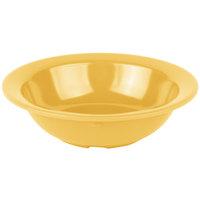 Carlisle 4386622 Honey Yellow Dayton 4.75 oz. Fruit Bowl - 48/Case