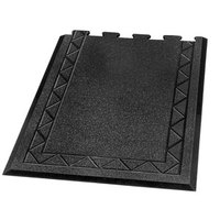 Comfort Zone Interlocking Anti-Fatigue Mat 36 inch x 24 inch - End 1/2 inch Thick