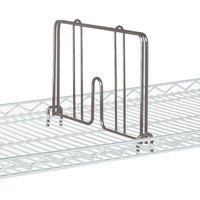 Metro HD18-DCH Copper Hammertone Drop Mat Snap-On Divider - 18 inch Wide