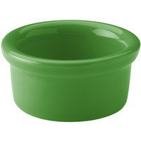 Hall China 30363324 Shamrock 3.5 oz. Colorations Round China Ramekin - 36/Case