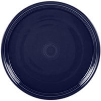 Homer Laughlin 505105 Fiesta Cobalt Blue 15 inch China Pizza / Baking Tray - 4 / Case