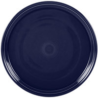 Homer Laughlin 505105 Fiesta Cobalt Blue 15 inch China Pizza / Baking Tray   - 4/Case