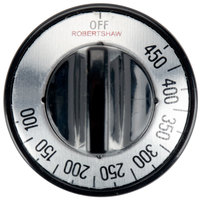 FMP 130-1004 2 inch Thermostat Knob (100-450 Degrees Fahrenheit) for Toastmaster Freestanding Griddles
