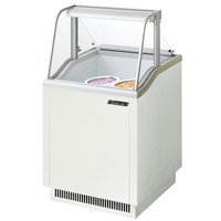 Turbo Air TIDC-26W 26 inch Low Curved Glass Ice Cream Dipping Cabinet