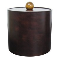 3 Qt. Dark Brown Vinyl Insulated Ice Bucket