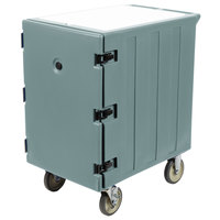 Cambro 1826LBC401 Camcart Slate Blue Single Compartment Mobile Cart for 18 inch x 26 inch Food Storage Boxes