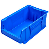 Metro MB30281B Blue Stack Bin 20 inch x 12 3/8 inch x 6 inch