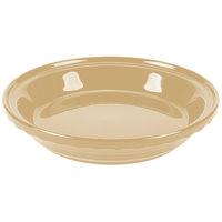 Homer Laughlin 487330 Fiesta Ivory 10 1/4 inch Deep Dish Pie Baker - 4/Case
