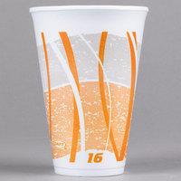 Dart 16LX16E 16 oz. Impulse Foam Travel Cup   - 1000/Case