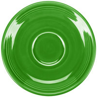 Homer Laughlin 470324 Fiesta Shamrock 5 7/8 inch Saucer - 12/Case